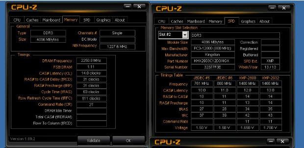 HyperX alcanza una velocidad de 4500MHz