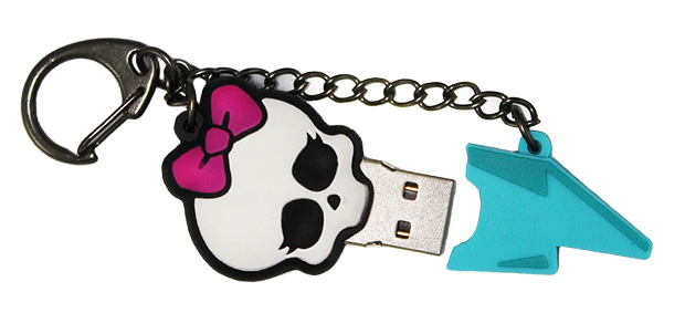 Ginga trae memorias USB de Monster High