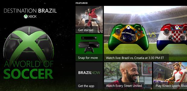 Xbox One traerá contenido para el Mundial