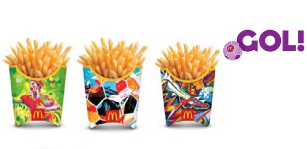 Tus papas de McDonald's juegan fútbol