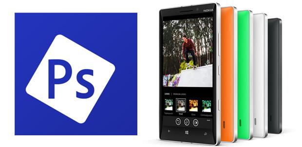 Adobe Photoshop ahora para Nokia Lumia