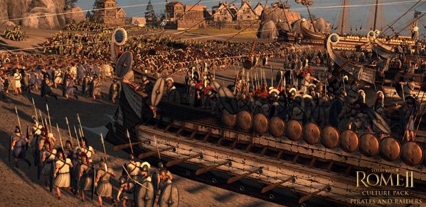 Piratas y Corsarios llegan a Total War: Rome II