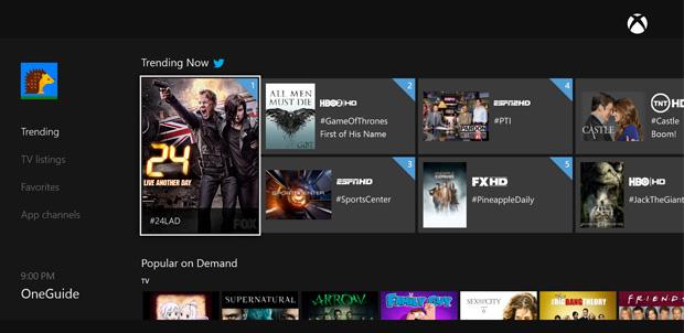 Muchas aplicaciones llegarán a Xbox One