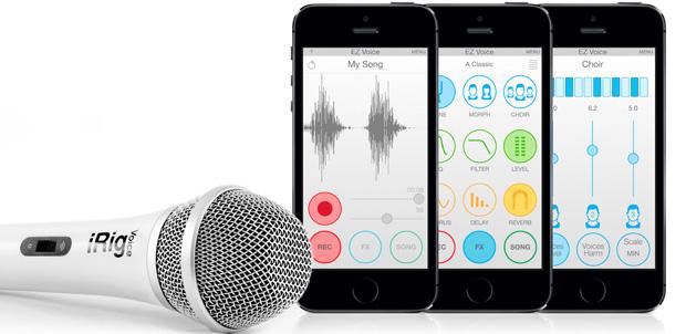 Conviértete en un cantante con iRig Voice