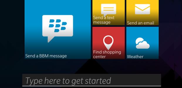 BlackBerry Assistant de Passport con OS 10.3