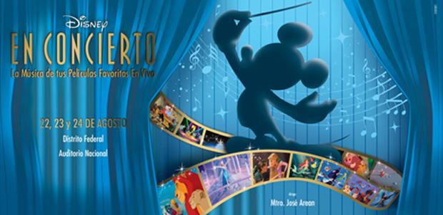 Disney en Concierto llega a México en agosto