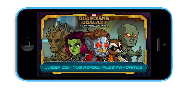 Guardianes de la Galaxia para tu iPhone