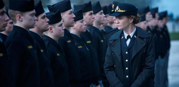 Joan Allen en la última temporada The Killing