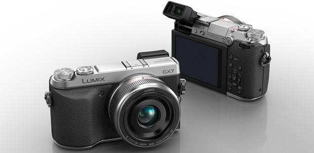 Lumix GX7 combina diseño clásico con NFC