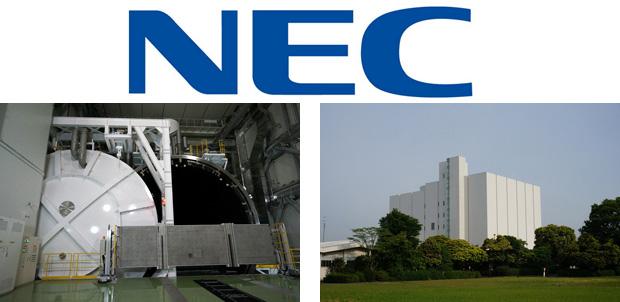 NEC abre planta para construir más Satélites