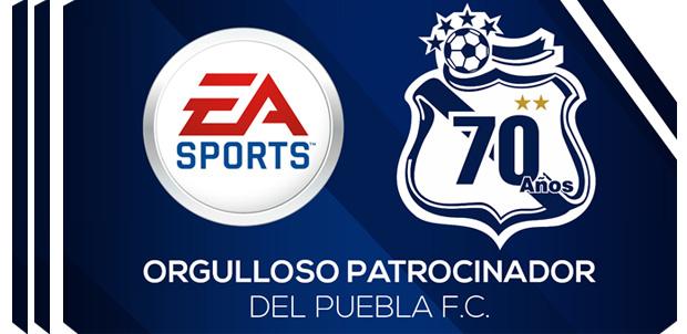 EA Sports es patrocinador del Puebla F.C.