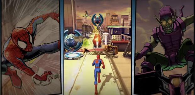 Spider-Man Unlimited en septiembre en Android