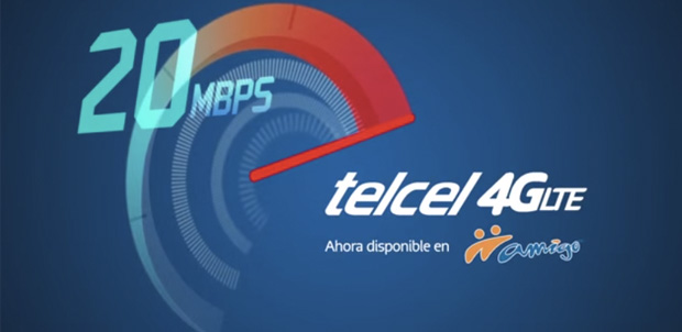 Telcel lanza red 4G LTE para usuarios Amigo