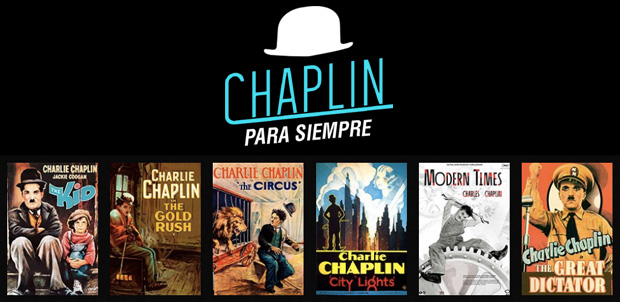 Chaplin para Siempre en salas de Cinépolis