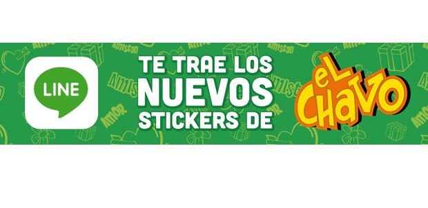 Llegan los stickers de El Chavo del 8 a LINE