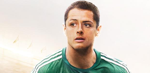 Chicharito Hernández en portada de FIFA 15