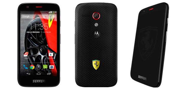 Moto G Ferrari Edition llega a la red Nextel 4G