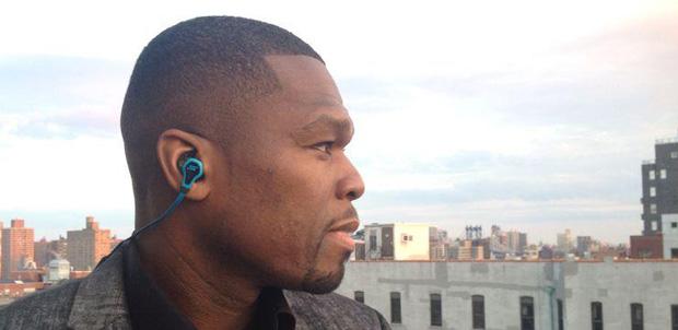 50 Cent presenta auriculares para el gym
