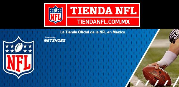 NFL México presenta nueva tienda en línea