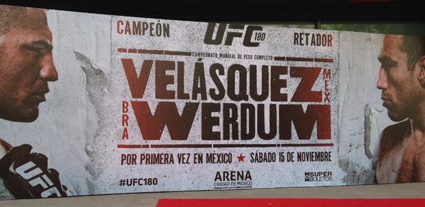 UFC-180-Mexico-poster