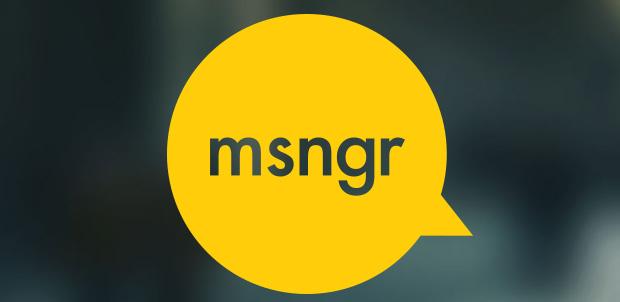 msngr es la nueva app para comunicarte