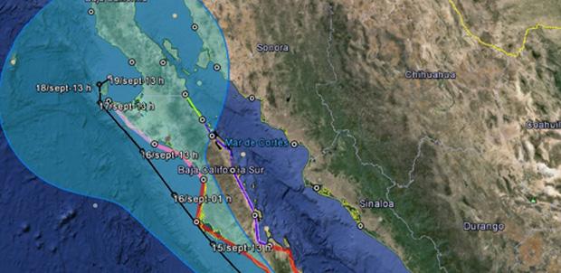 Conagua te alerta en Twitter sobre huracanes
