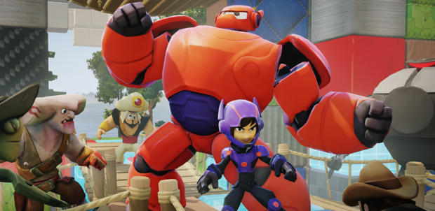 Grandes Héroes llegarán a Disney Infinity 2.0