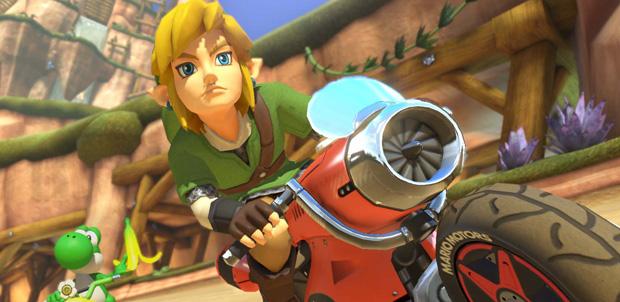 Link-Mario-Kart