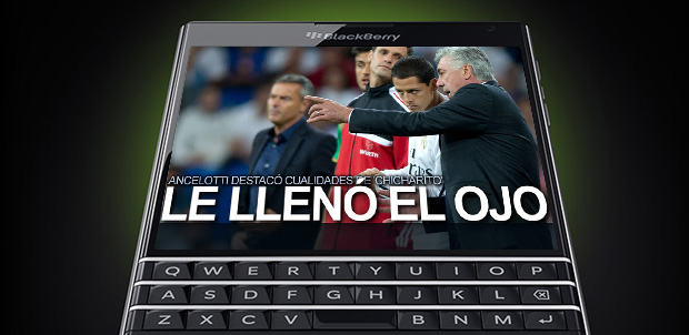 Noticias y videos deportivos en BlackBerry 10