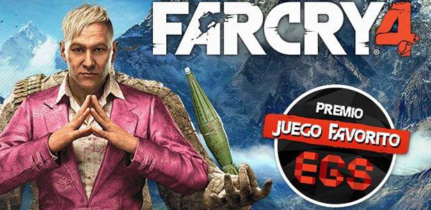 Far Cry 4 fue el juego favorito del EGS 2014