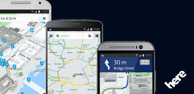 Beta de Nokia HERE en dispositivos Android