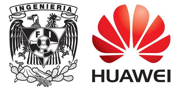 Profesores de la UNAM con apoyo de Huawei