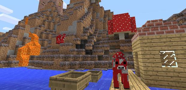 Minecraft para PS Vita y más en PSN Store