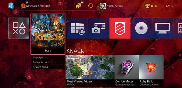 Novedades del software 2.0 para PlayStation 4