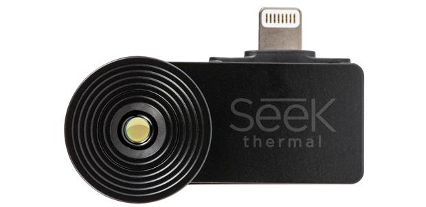 Agrega una cámara térmica a tu smartphone