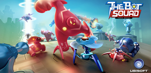 The Bot Squad: Puzzle Battles para iOS