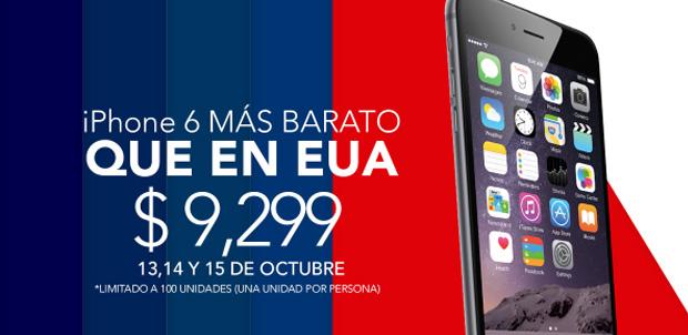 Compra en Linio un iPhone 6 por 9,299 pesos