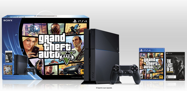 Bundle-PS4-GTAV