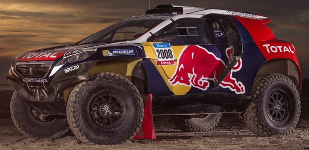 Peugeot 2008 DKR en el Rally Dakar 2015