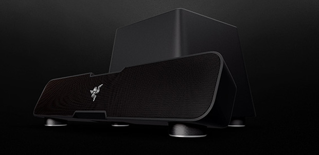 Leviathan la barra de sonido para los gamers