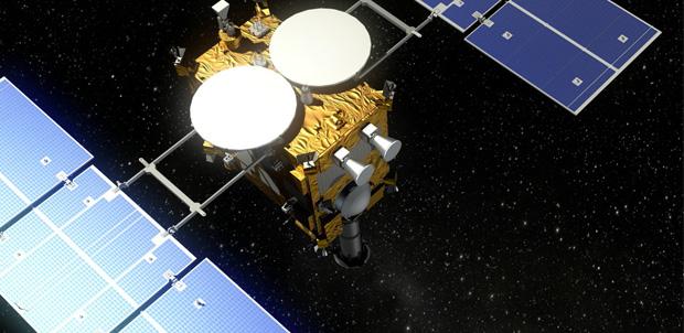 La sonda Asteroide Hayabusa 2 ya está en órbita
