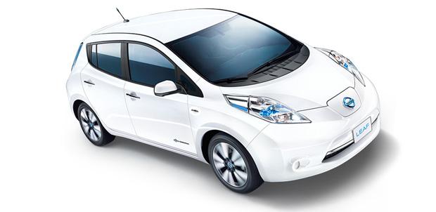 Llegó el auto del futuro: Nissan LEAF
