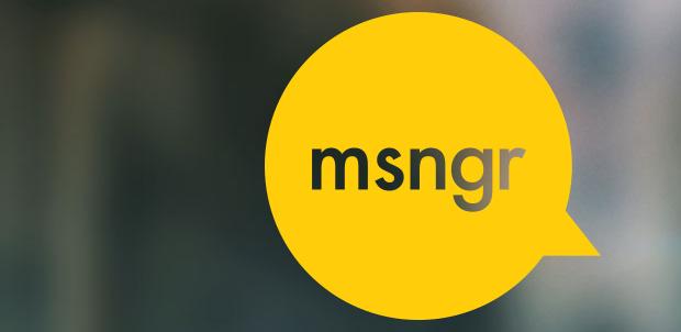 La aplicación msngr ahora te brinda noticias