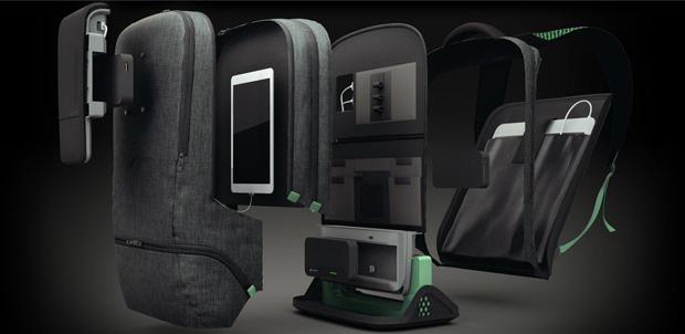 AMPL SmartBackpack lleva y carga tus gadgets