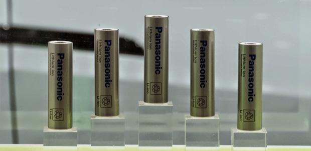 Baterias Panasonic Tesla
