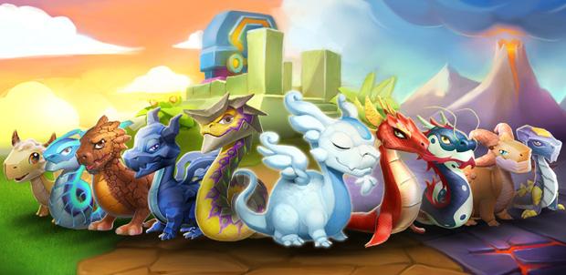 Dragon Mania Legends el juego Gameloft