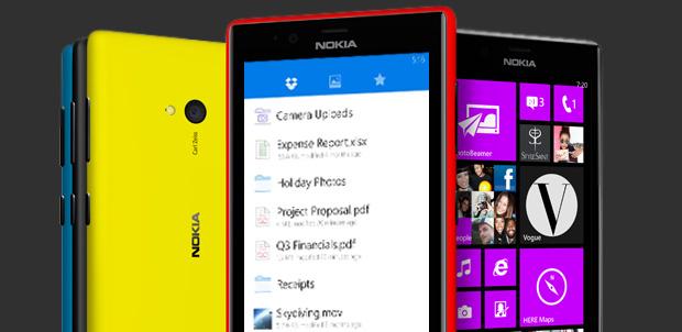 Comparte archivos con Dropbox en Lumia