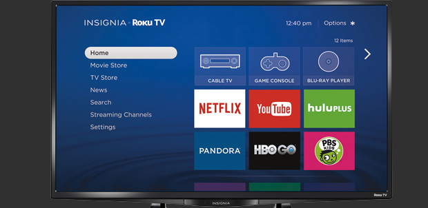 Best Buy venderá los Insignia Roku TV