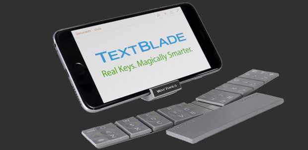 TextBlade el nuevo teclado para tu iPad