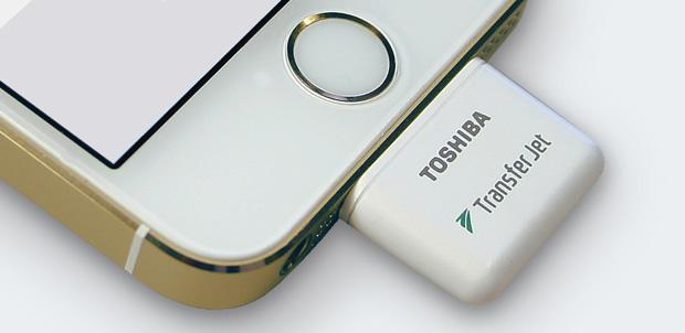 Toshiba TransferJET iPhone